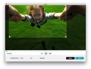 crop a video with iphone