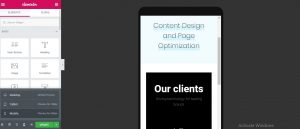 create a mobile friendly website
